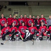 Partido Hockey Veteranos Jaca-Canada